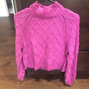 American Eagle Fuchsia Sweater